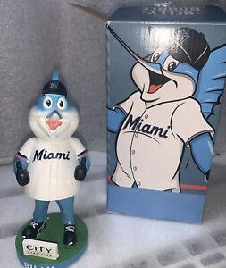 Miami Marlins Billy the Marlin SGA Mascot Bobblehead Bobble Belly Bobble