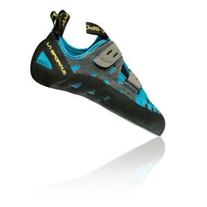 La Sportiva Womens Tarantula Climbing Shoes Blue Grey Sports Breathable
