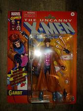 """GAMBIT Hasbro Marvel Legends Series Retro 6"""" Action Figure Uncanny X-Men Target"""