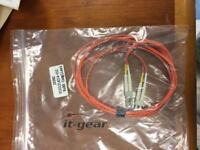 F1221214214-005 5M 2GB Fibre Cable LC-LC MULTI 50//125