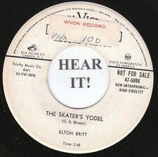 Elton Britt HILLBILLY 45 (RCA 5996 PROMO) The Skater's Yodel /St Louis   VG++