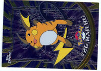 POKEMON TOPPS CHROME HOLO REGULAR 1998 N° #26 RAICHU