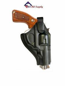 Revolver OWB Holster fits S&W 357, Colt Python, Cobra, Ruger GP100 Pistol