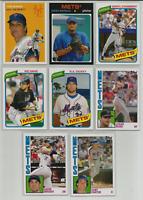 2012 Topps Archives New York Mets 8 Card Team Set Gary Carter Tom Seaver Wright