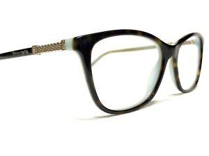 Tiffany & Co. TF2116-B 8134 Women's Tortoise & Blue Rx Eyeglasses Frames 53/16