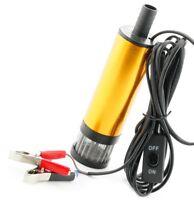 Diesel Fuel Pump DC 12V Transfer Pump Water Oil Fluid GOLD 12 Volt V01