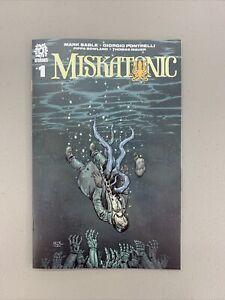 Miskatonic #1 1:15 Crook variant AfterShock Comics 2020 Dagon Cthulhu Lovecraft