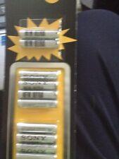 Sony BATTERIE 10 AAA di alta qualità!!! un Nuovo di zecca in confezione
