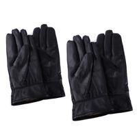 9d139c2e01190e Herren Handschuhe Winterhandschuhe Lederhandschuhe 100% Echtes Leder  Schwarz Neu