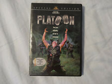 Platoon (Dvd, 2001, Special Edition, Widescreen) Oliver Stone Excellent Disc