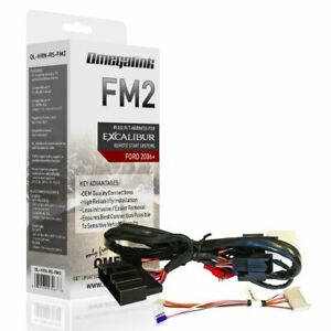 Omega Excalibur OL-HRN-RS-FM2 Plug&Play Harness For Ford/Lincoln/Mazda/Mercury