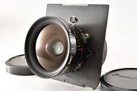 【MINT】 Fuji Fujinon SWD 75mm F5.6 Large Format Lens Copal 0 shutter From JAPAN