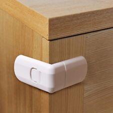 Toddler Wardrobe Cupboard Lock Door Child Window Cabinet Baby Safety 2PCS Kids