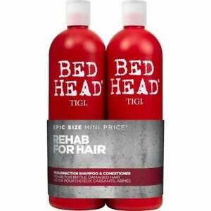 TIGI Bed Head Antidotes Resurrection Shampoo and Conditioner DUO 750ml Each