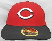 Cincinnati Reds MLB New Era 59fifty 7&3/8 Low Profile fitted cap/hat