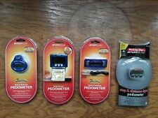 (4) Sportline Pedometer Calorie Tracking Step Counting Digital Accurary