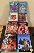 Amiga Games -  Atomino, Barbarian II, Gold of the Realm, Goldrunner II,...