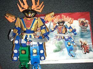 "Mega Bloks Power Rangers Super Samurai ""SAMURAI MEGAZORD ARAGOSTA"