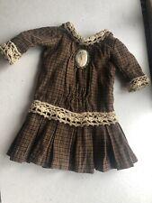 Magnifique Robe Ancienne Pour Poupee Jumeau, Steiner