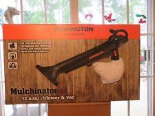 New! Remington Rm1300 Mulchinator 12 Amp Vacuum, Mulcher/ Blower Combo Lowest $