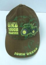 John Deere 2t-3t Toddler Cap Baby Farmer Tractor Patch Farming One Tough Tractor