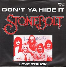 7inch STONEBOLTdon't ya hide itHOLLAND 1979 EX+  WOC (S1849)
