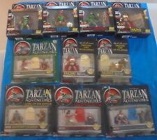 Trendmasters Tarzan Epic Adventures Lord Of The Jungle MIP MOC Action Figure Lot