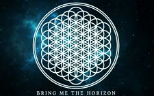 """143 Bring Me The Horizon - BMTH Metalcore Band Oliver Sykes 22""""x14"""" Poster"""