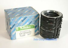 Kenko extension tube 3er set 36 20 12 MM f MINOLTA x-700 xd-7 top marchandise 01009