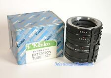 Kenko Extension Tube 3er Set 36 20 12 mm f Minolta X-700 XD-7 Top Ware 01009