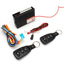 Universal Door Car Vehicle Keyless Entry System Remote Start Auto Lock Starter P