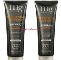 2 x Trevor Sorbie MG Male Grooming Thickening Caffeine Shampoo (250ml)