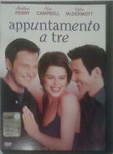 APPUNTAMENTO A TRE DVD WARNER SNAPPER N.CAMPBELL M.PERRY Usato QUASI OTTIMO