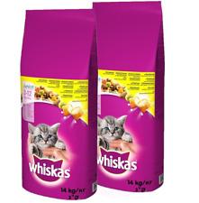 2x14 kg WHISKAS JUNIOR Huhn Katzenfutter Food for cat BRAVAM 5900951014369