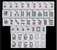 "Mahjong Mah-Jongg Tile Spare Replace Mahjonng White 1 3/16""x 7/8"" x 1/2"" New 1"