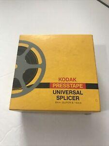 Vintage Kodak Presstape Universal Splicer 8mm, super 8/16mm