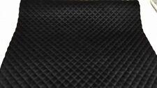 Samtstoff gesteppt Steppstoff schwarz gesteppter Stoff Rolls 45x100cm        +