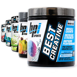 BPI Sports Best Creatine by (50 Servings) Pre/Post Workout Multiple Flavors