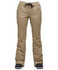 2018 NWOT Airblaster Womens Fancy Pant Pants 10K M Medium Snowboard Khaki sa75