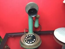 RARE Vintage 1922 DIAL Plaphone 7200 Toy, Gong Bell MFG CO. East Hampton Conn.
