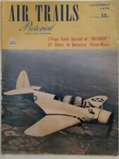 Air Trails #41/2 September 1942, Average condition, 2 model plans, no centerfold