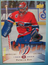 """2008-09 UD Montreal Canadiens """"100th Anniversary"""" Centennial # 39 Patrick Roy!"""