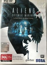 ALIENS COLONIAL MARINES LIMITED EDITION PC DVD-ROM GAME