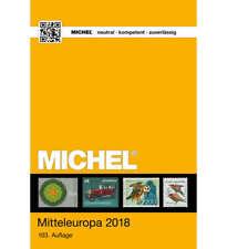 MICHEL-Katalog Europa 2018 Band 1 (EK1) Mitteleuropa
