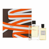 Terre D'Hermes by Hermes for Men 2 PC Set 3.3 oz EDT Spray + 2.7 oz Shower Gel
