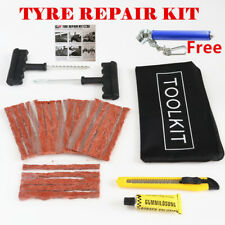 CAR VAN TRUCK AGRI TYRE TIRE PUNCTURE REPAIR KIT WITH 20 STRINGS/PLUG/INSERT