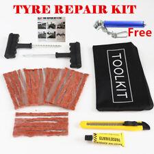 Coche Furgoneta Camión Agri Neumáticos Kit de reparación de pinchazos con 20 Cuerdas/Enchufe/insertar