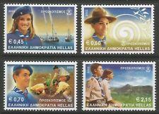 stamps-greece. 2002. SCOUTS Ensemble SG : 2199/2202. neuf sans charnière