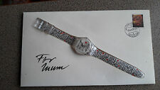 VINTAGE SWATCH gk294 mothersday Dear Mum SPECIAL EDITION retro watch 1999 NEW