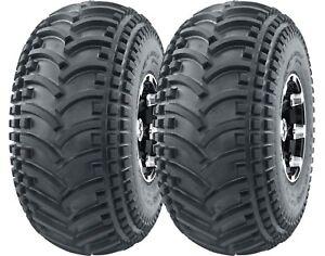 2 New ATV UTV Tires 22X11-8 22x11x8 DURABLE 4PR DEEP TREAD Mud Sand Hard Terrain